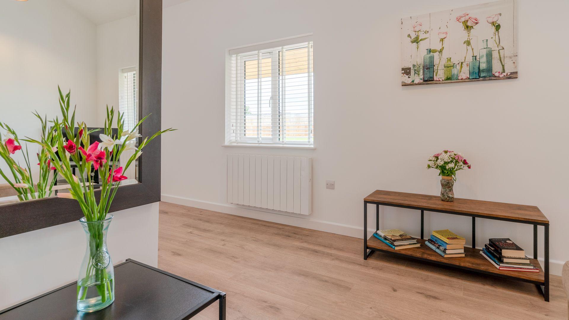Living area, Rose Barn, Laburnum Farm Estate, Bolthole Retreats