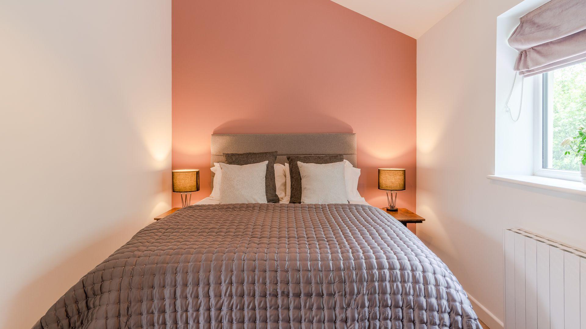 Bedroom, Rose Barn, Laburnum Farm Estate, Bolthole Retreats