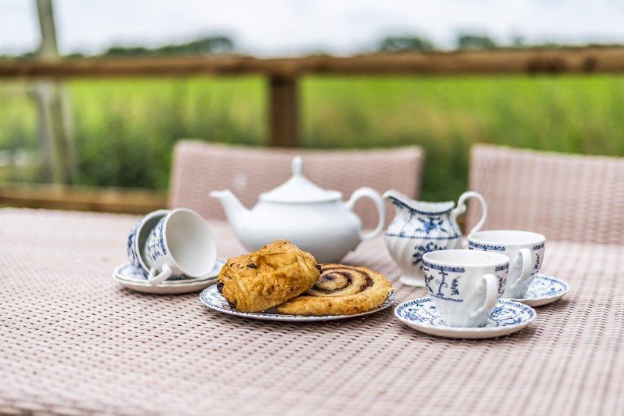 Skiddaw | Tea in the garden