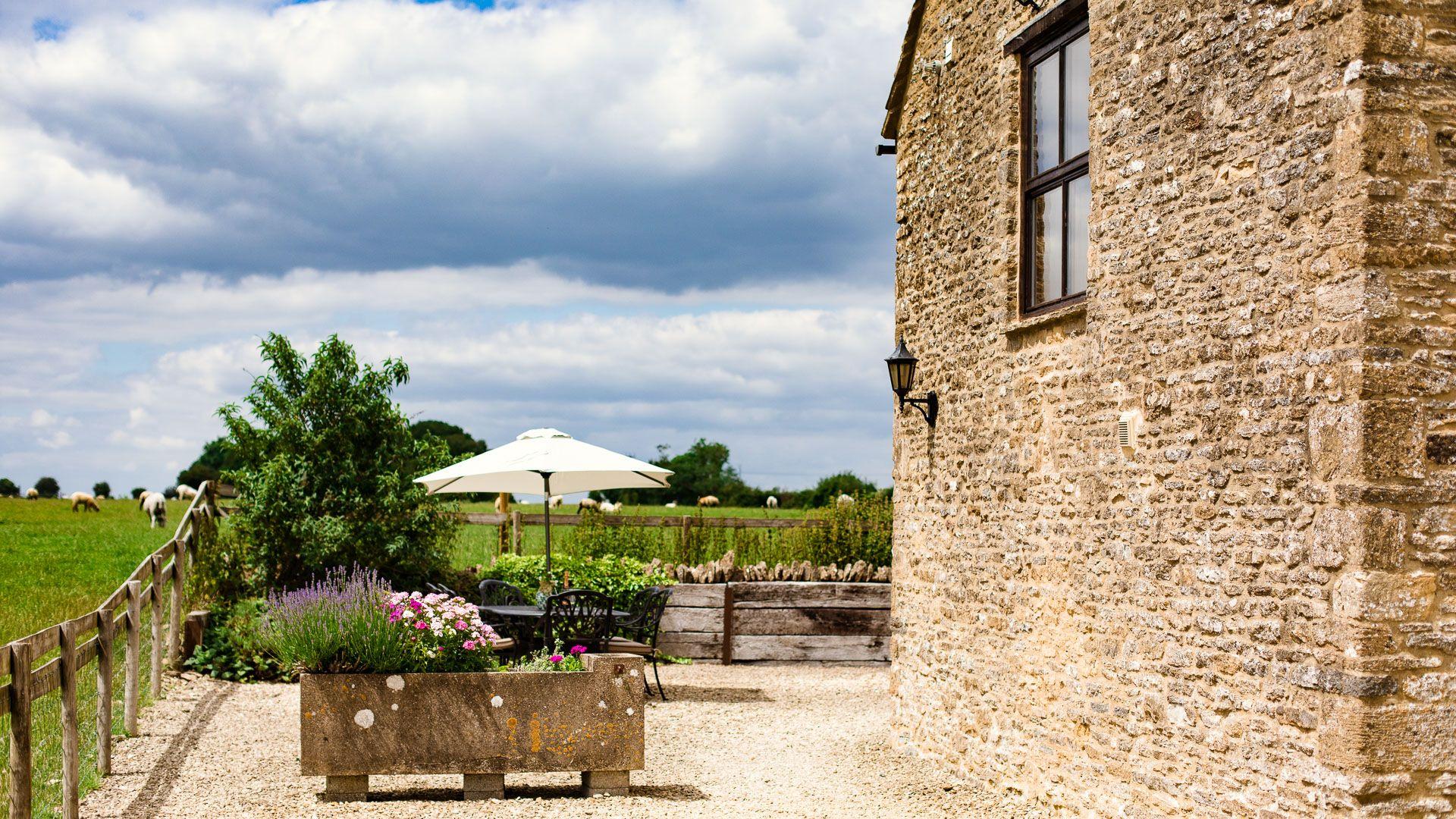 Courtyard garden, The Gallery, Bolthole Retreats