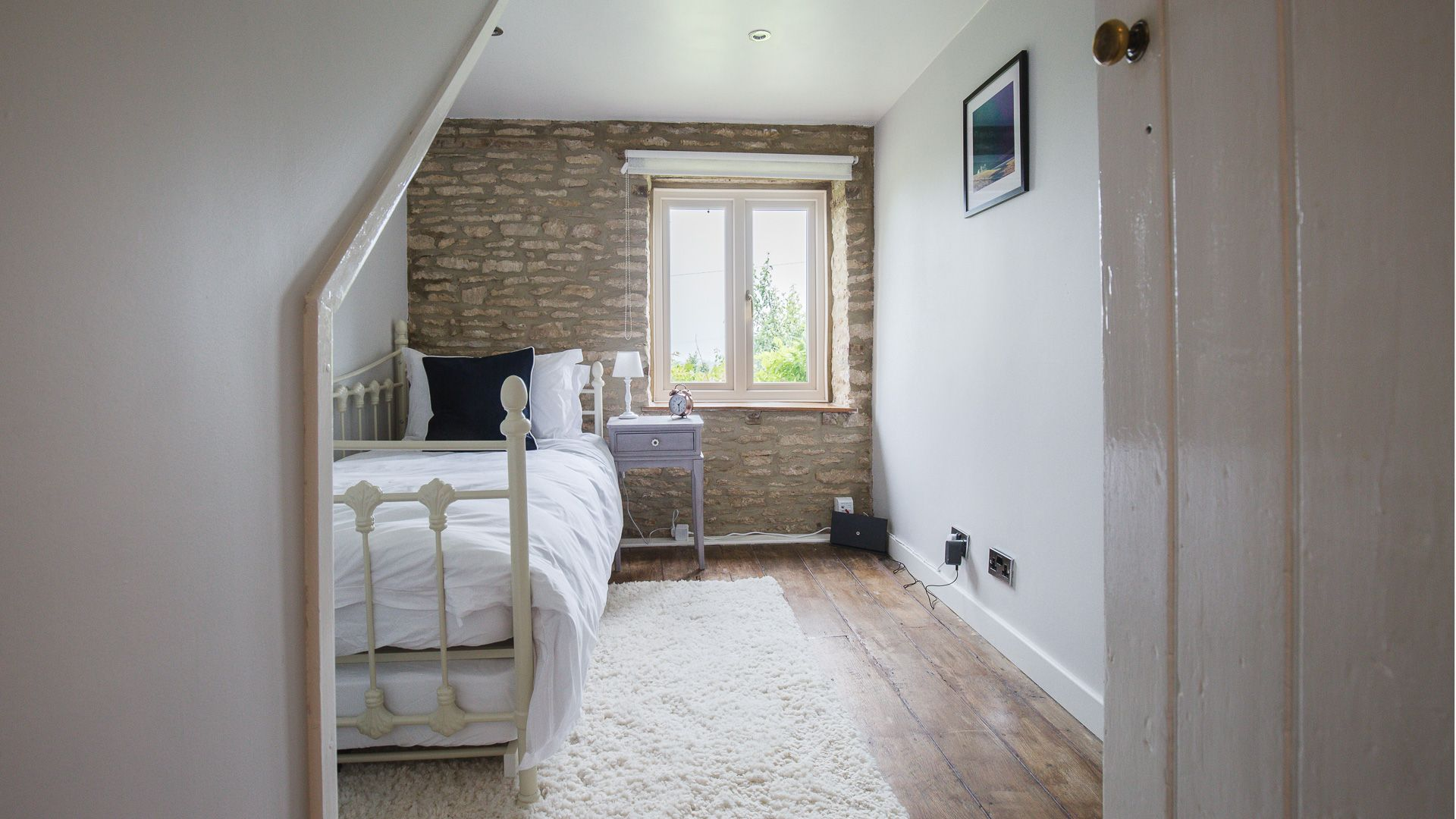 Bedroom Two, Field View, Bolthole Retreats