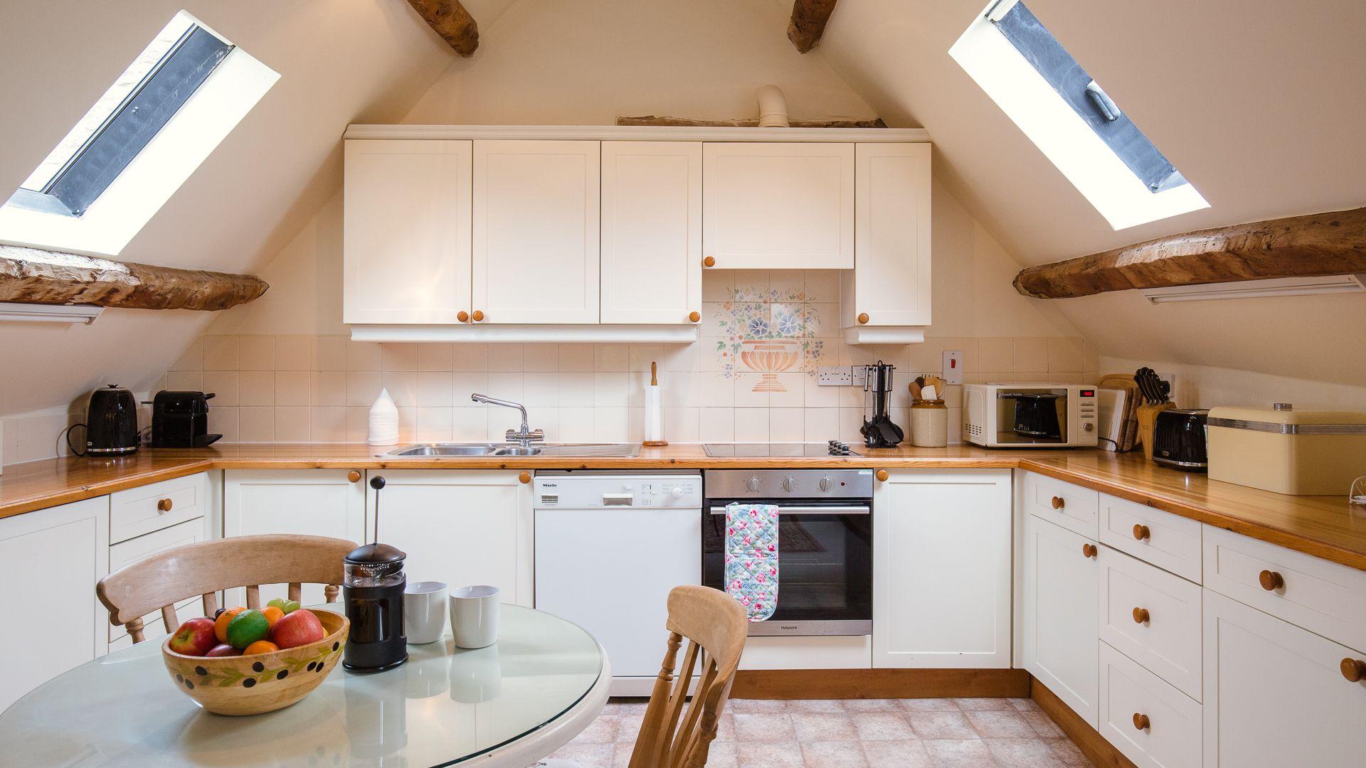 Kitchen, Hayloft at Newbarn Farm, Bolthole Retreats