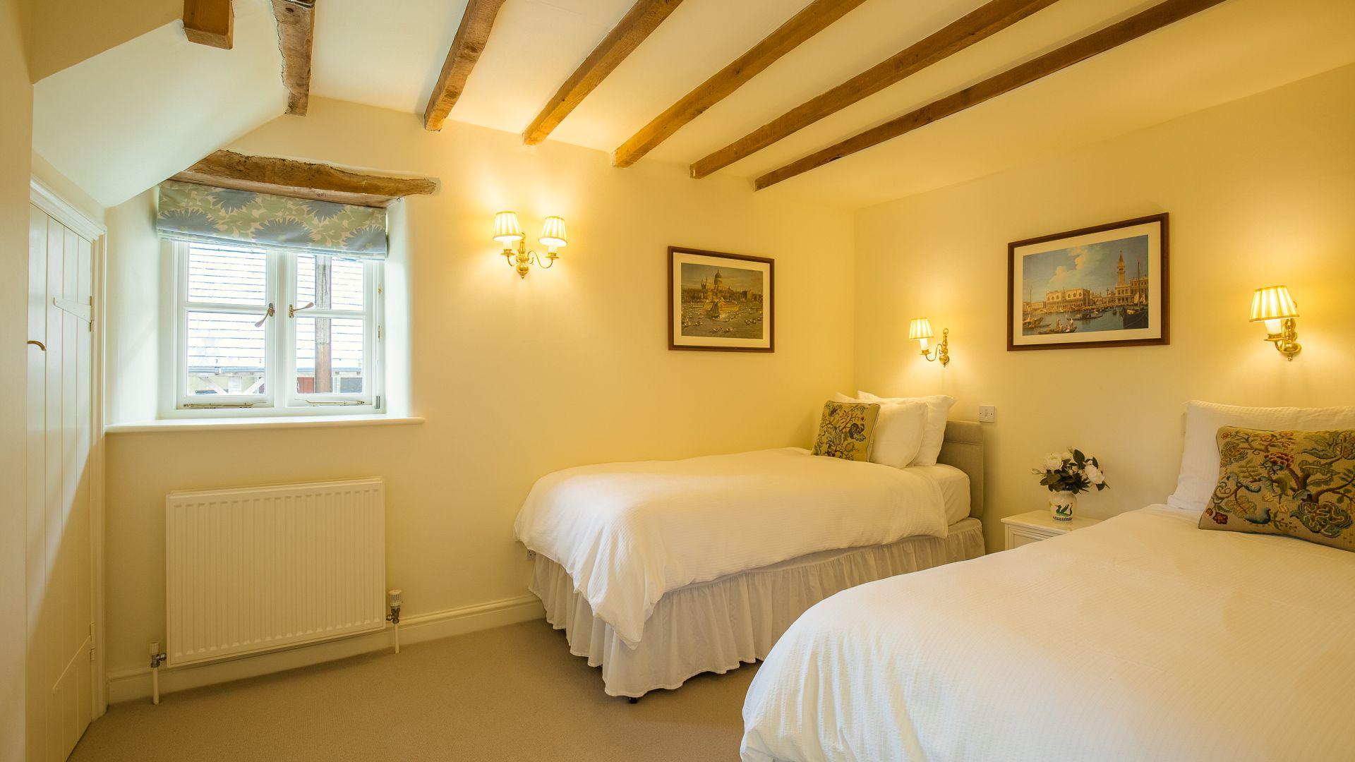 Bedroom Two, Hayloft at Newbarn Farm, Bolthole Retreats
