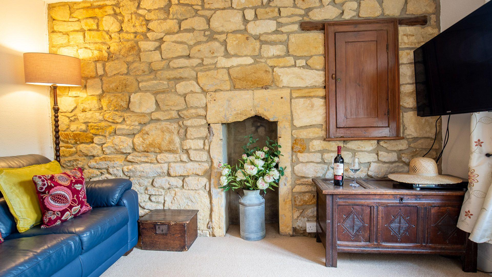 Living Room, Lark Rise Cottage, Bolthole Retreats