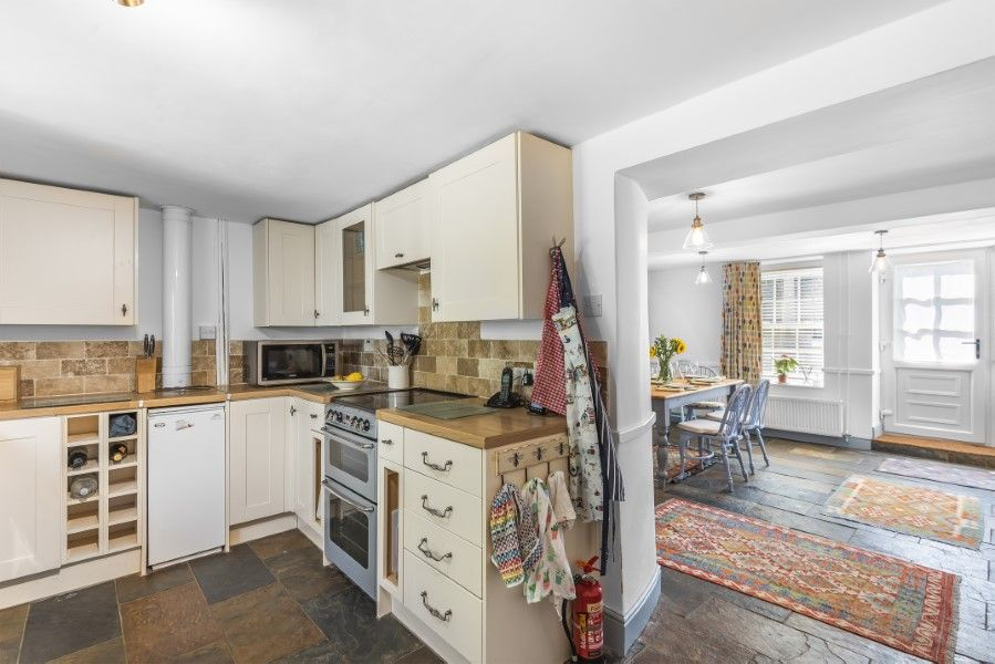 The Old Post Office | Kitchen through to dining room