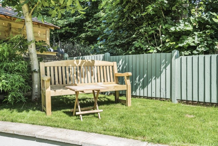 The Old Post Office | Garden bench