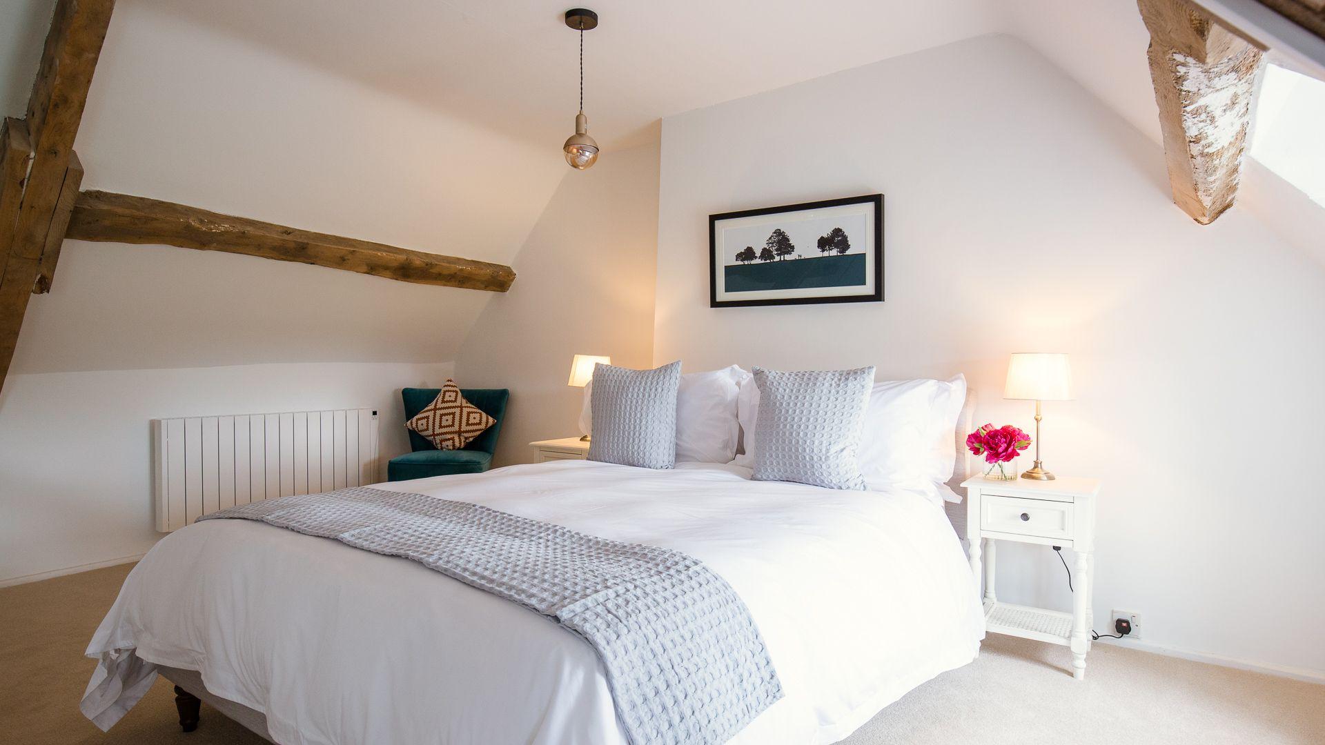 Bedroom Three, Field View, Bolthole Retreats