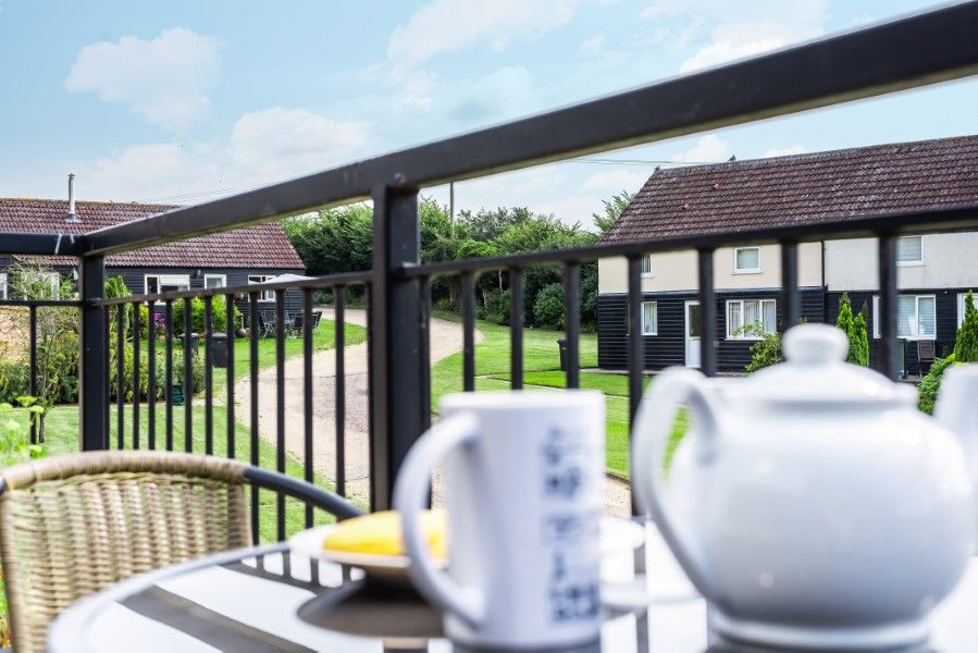The Cabin | Tea on the balcony