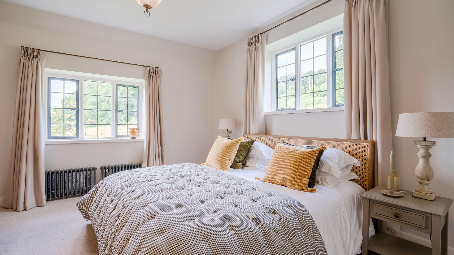 Bedroom Two, Court Cottage, Bolthole Retreats