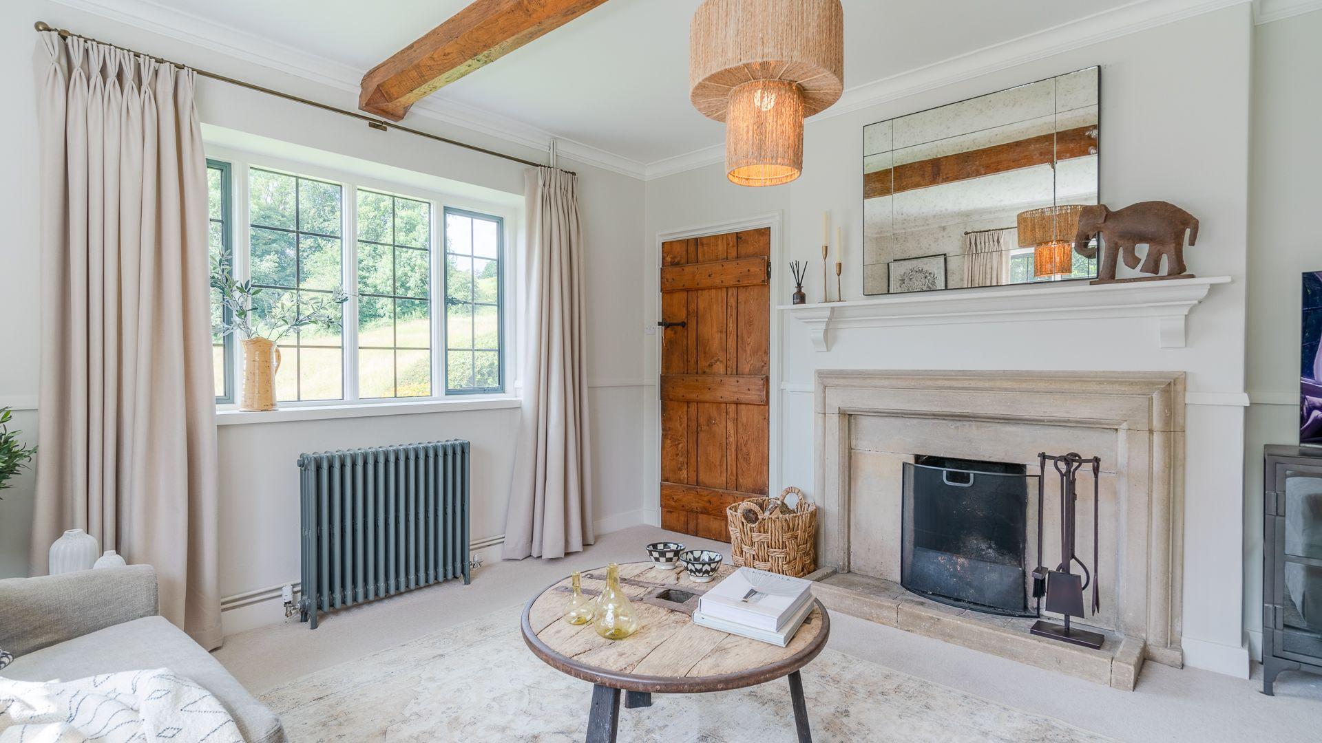 Living Room, Court Cottage, Bolthole Retreats