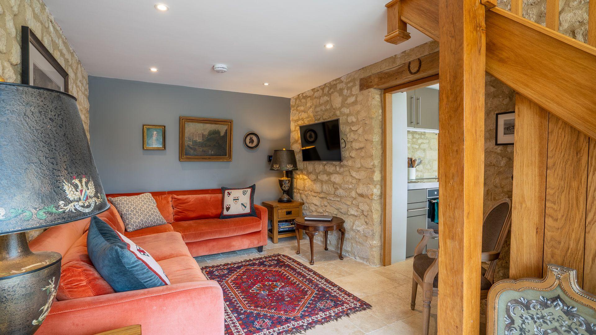 Living Room, Little Coach House, Bolthole Retreats