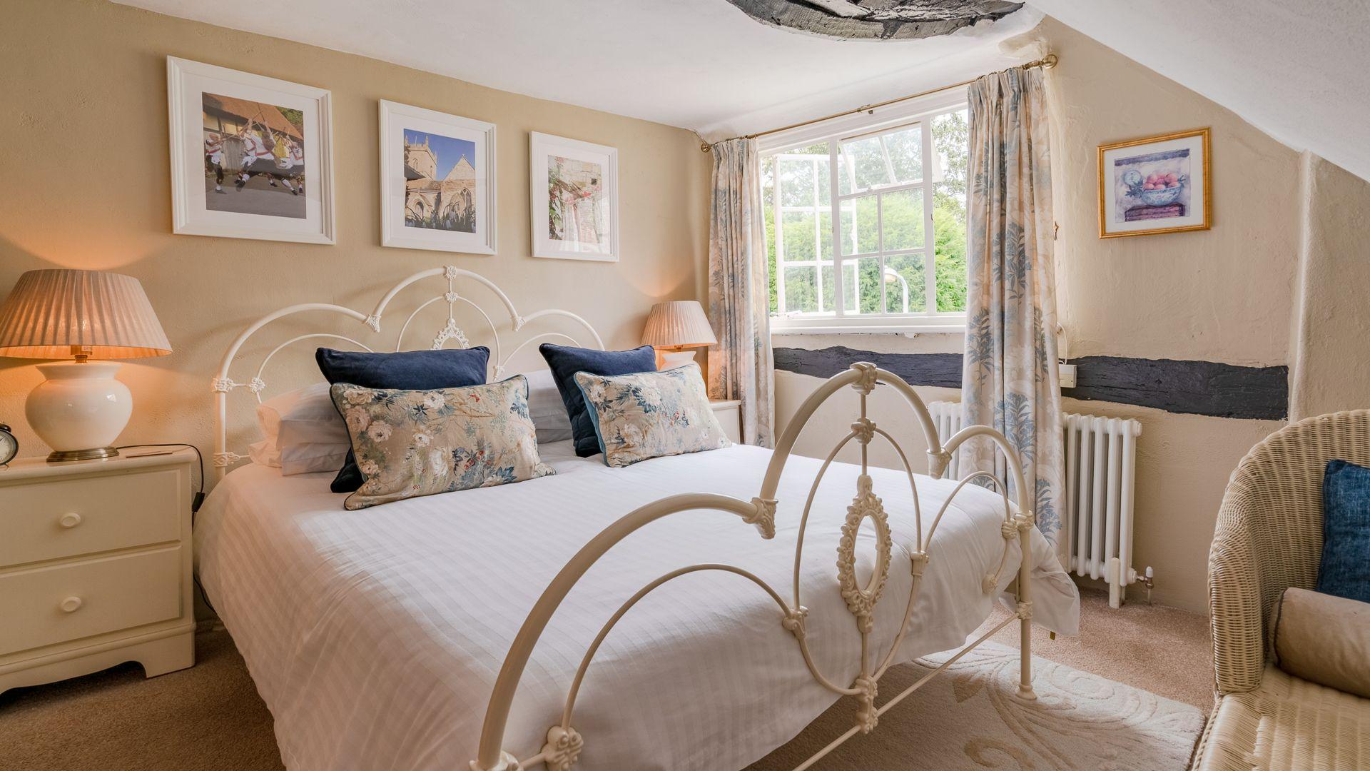 Bedroom Two, Rose Cottage, Bolthole Retreats