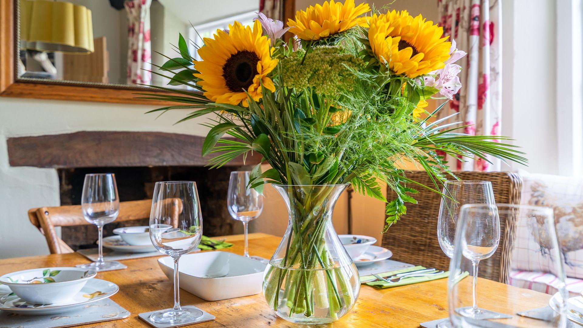 Dining Room, Rose Cottage, Bolthole Retreats