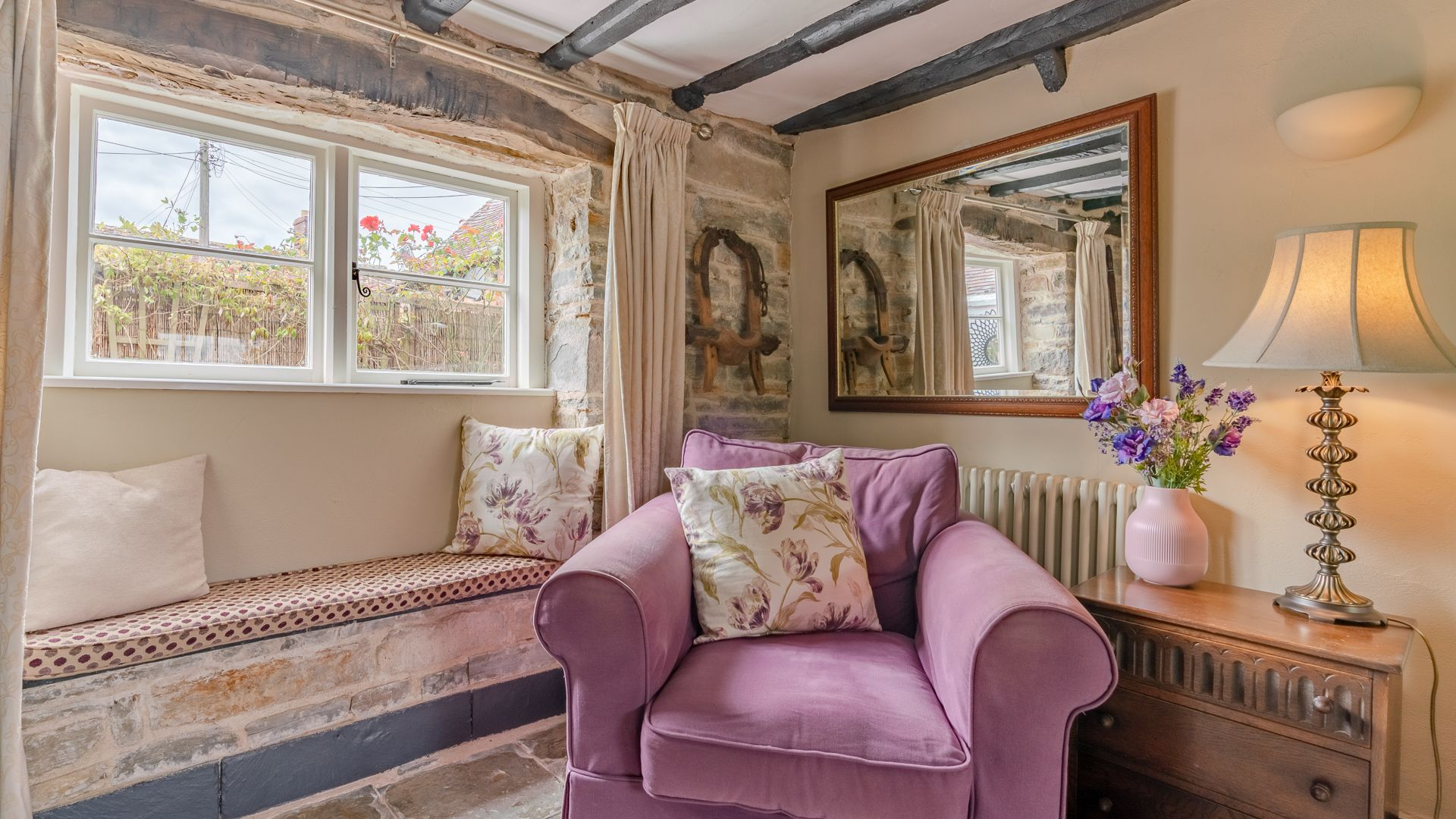 Living Room, Rose Cottage, Bolthole Retreats
