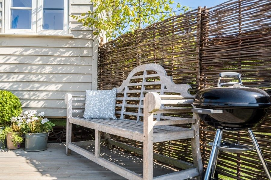 The Shepherd's Hut | Outside seating