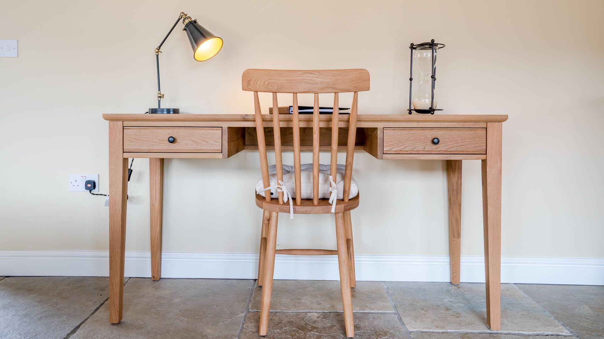 Desk, Swifts Retreat, Bolthole Retreats