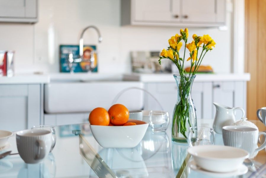 Aster House | Kitchen table