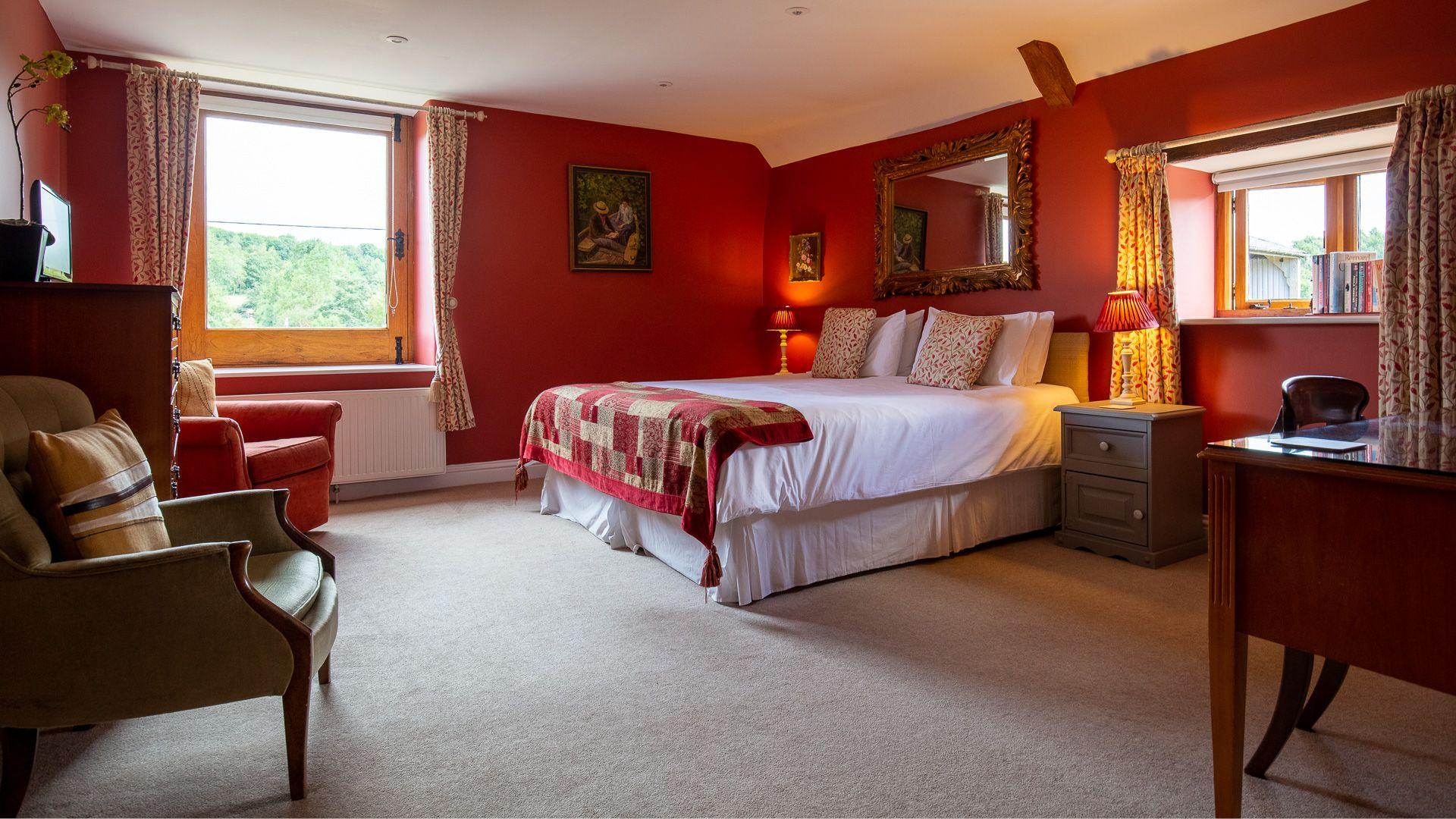 Bedroom Three/Master, Tom's Barn,  Bolthole Retreats