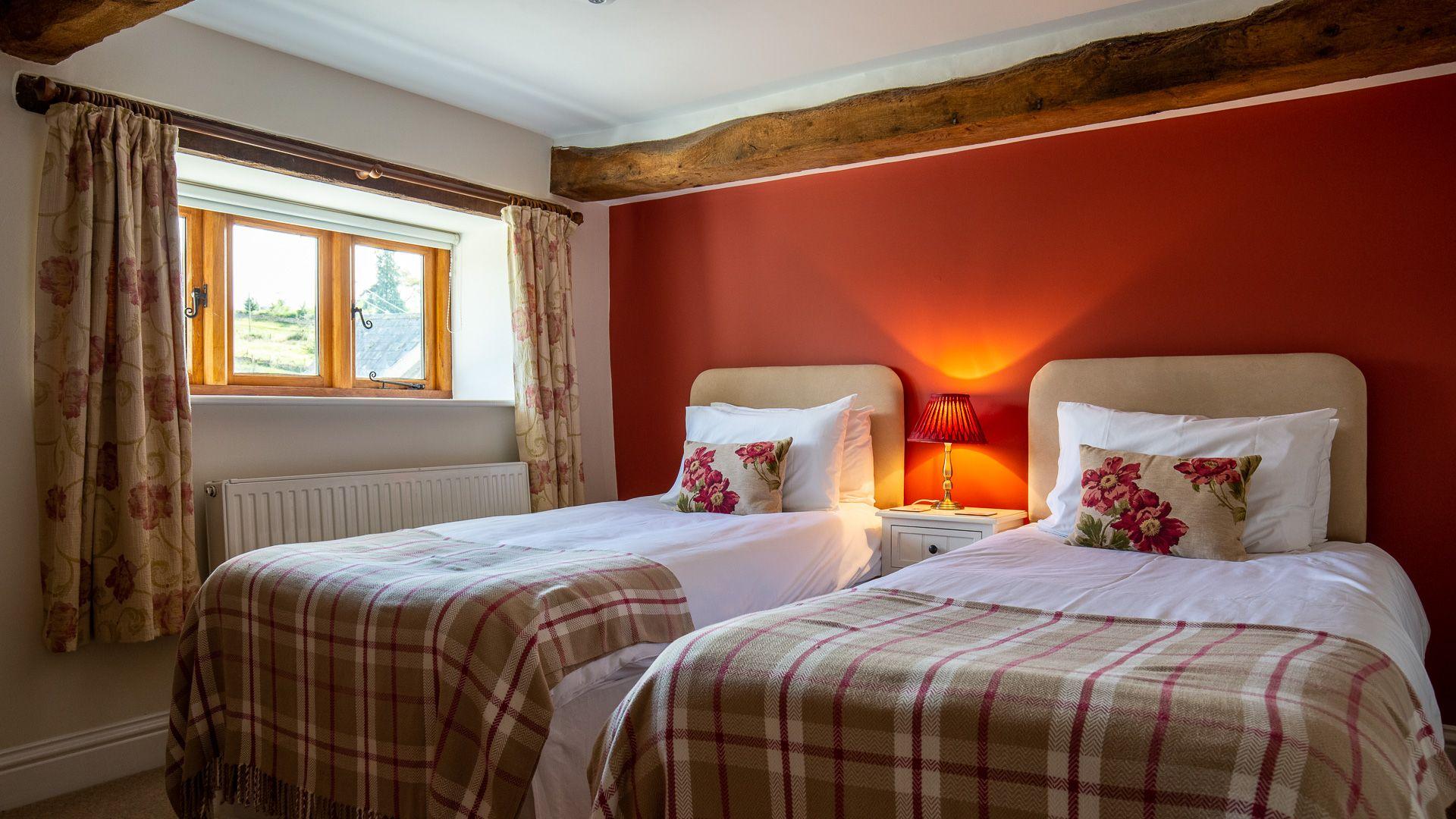 Bedroom Four, Tom's Barn,  Bolthole Retreats