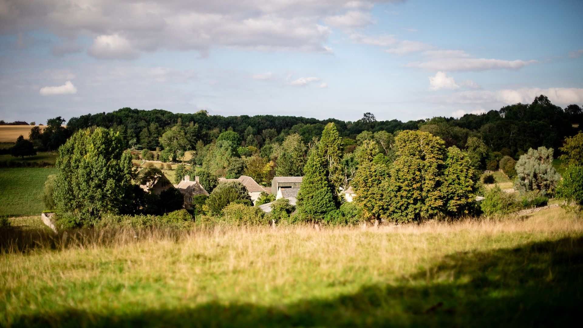 View across the valley, Tom's Barn,  Bolthole Retreats