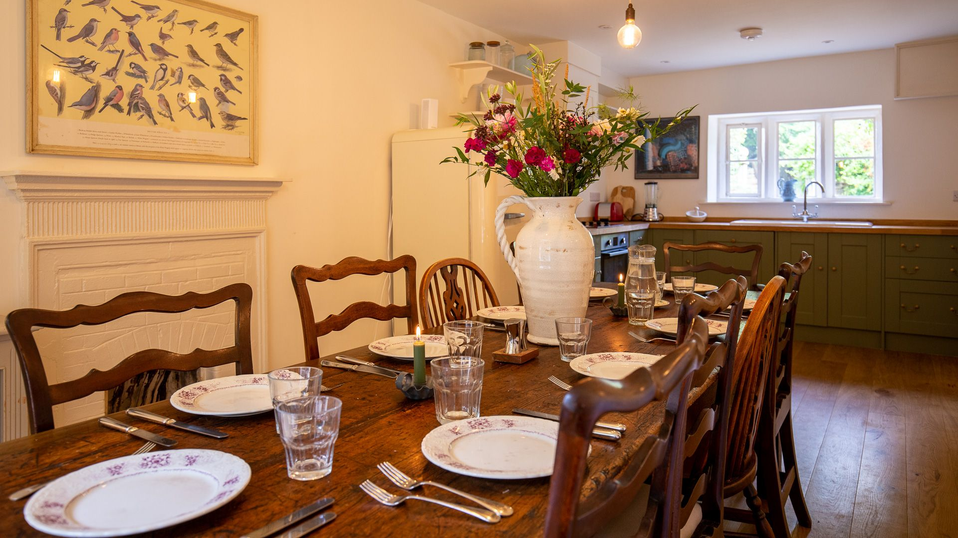 Kitchen/Dining Room, Temple Guiting Cottage, Bolthole Retreats