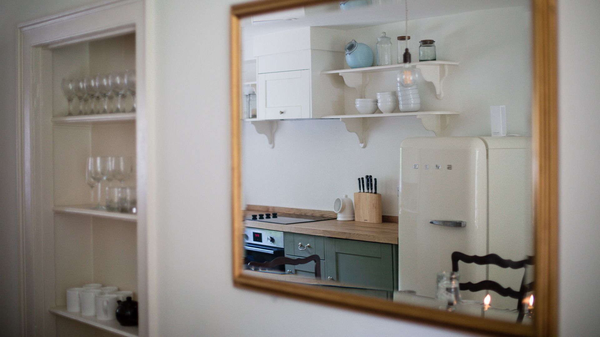 Kitchen/Dining Room Reflections, Temple Guiting Cottage, Bolthole Retreats