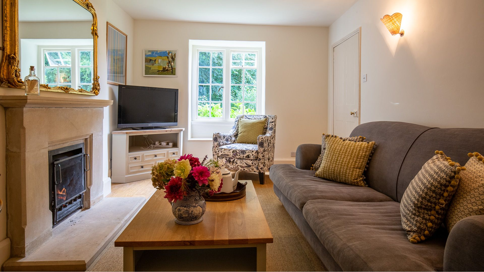 Living Room, Temple Guiting Cottage, Bolthole Retreats