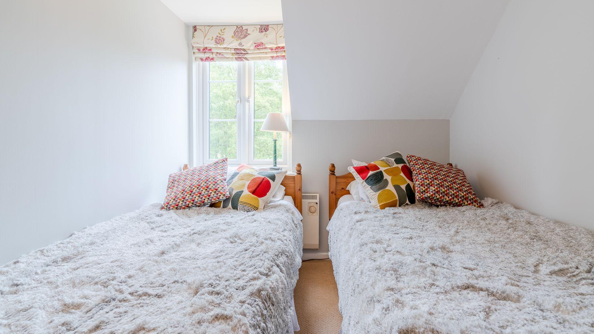 Bedroom three, Mayfly Lake Lodge, Bolthole Retreats