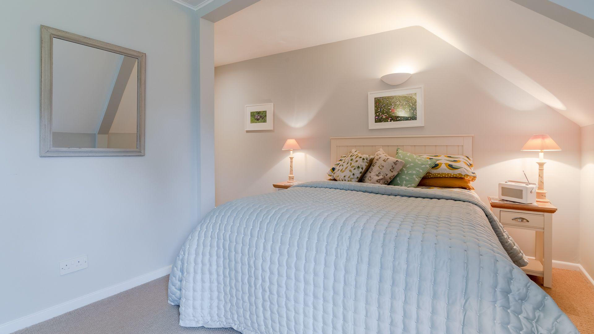 Bedroom two, Mayfly Lake Lodge, Bolthole Retreats