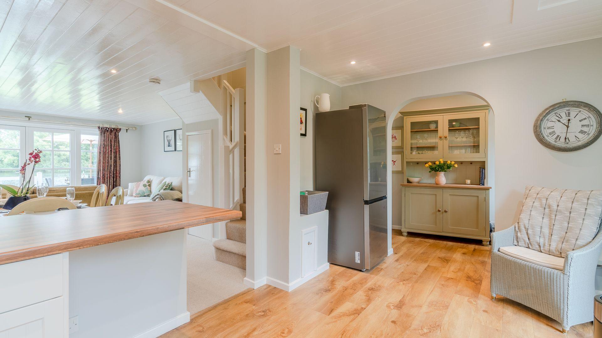 Entrance to kitchen, Mayfly Lake Lodge, Bolthole Retreats