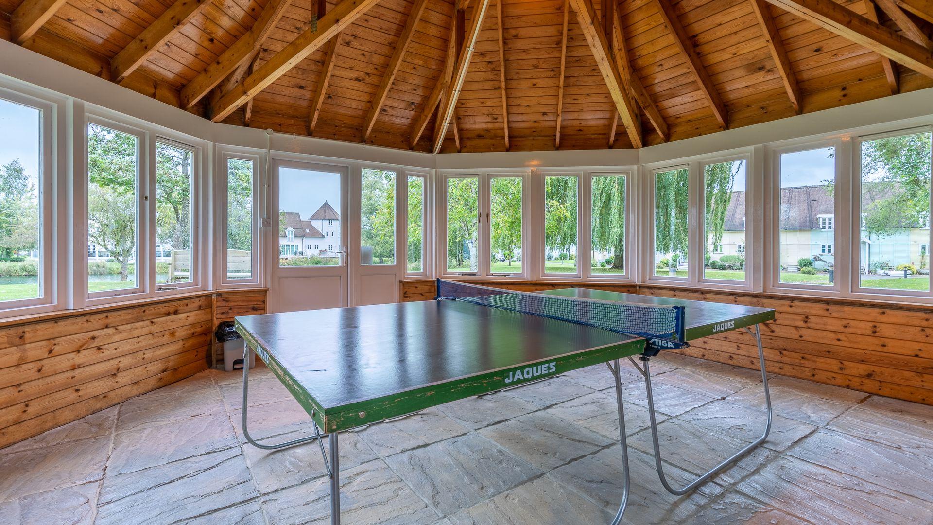 Table tennis room, Mayfly Lake Lodge, Bolthole Retreats