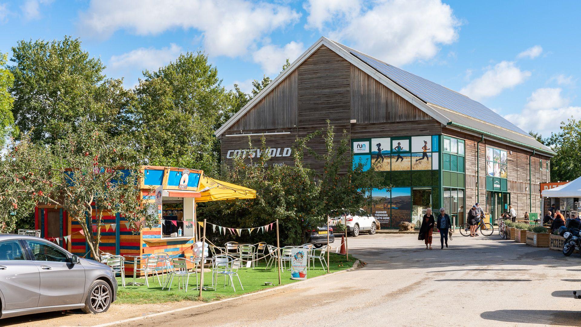 Cotswold Water Park Information Centre, shop and restaurants, Bolthole Retreats