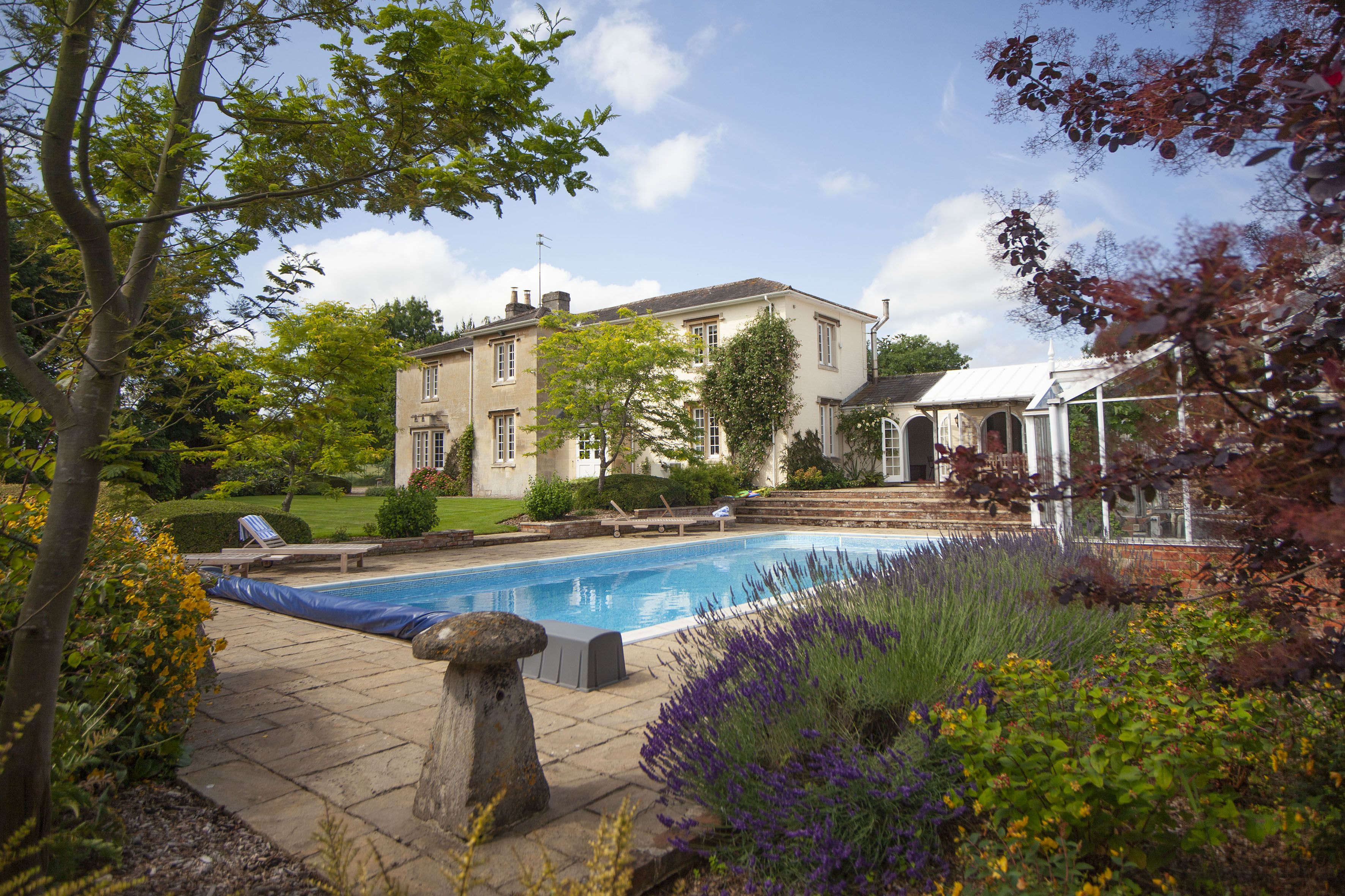 The farmhouse with heated swimming pool