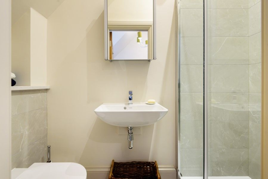 Christel Cottage   Upstairs shower room