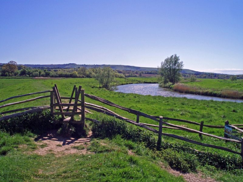 Large Image - Pulborough Brooks and the South Downs