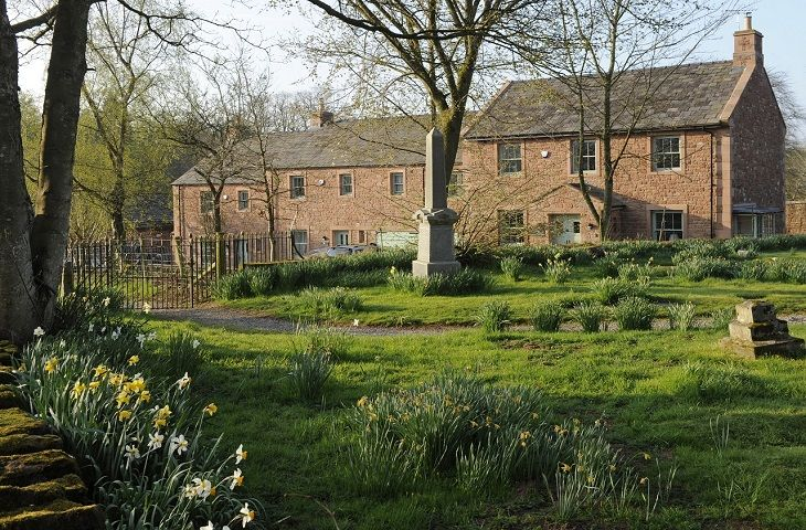 Kirkbride Hall is a newly built traditional style stone clad terraced cottage located in walled cherry and apple orchards of Melmerby Hall