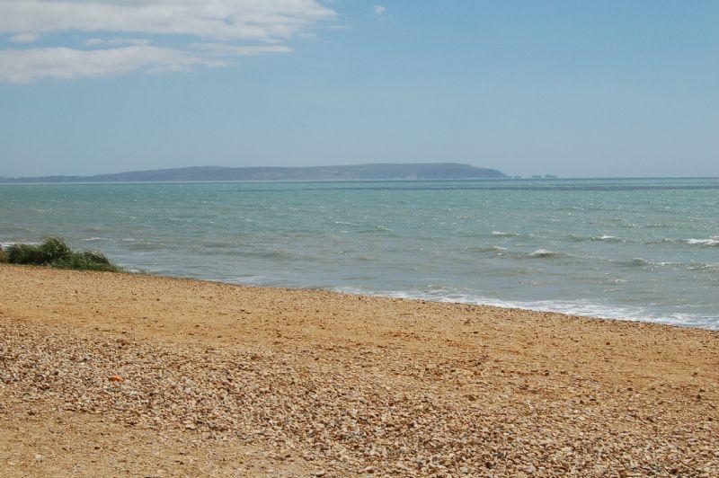 The beach at Barton-on-Sea