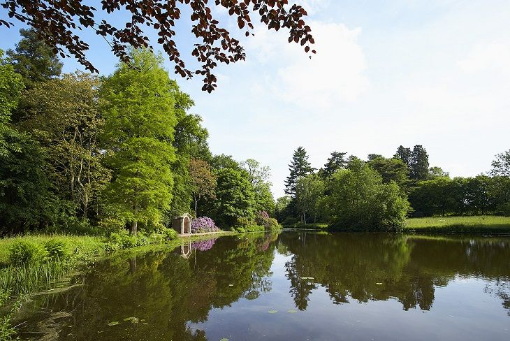 Temple Pool, a haven for wildlife and an ideal area for picnics