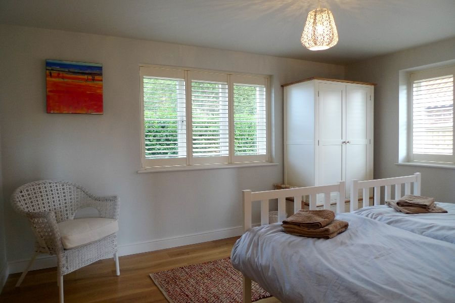 Long View   Downstairs bedroom