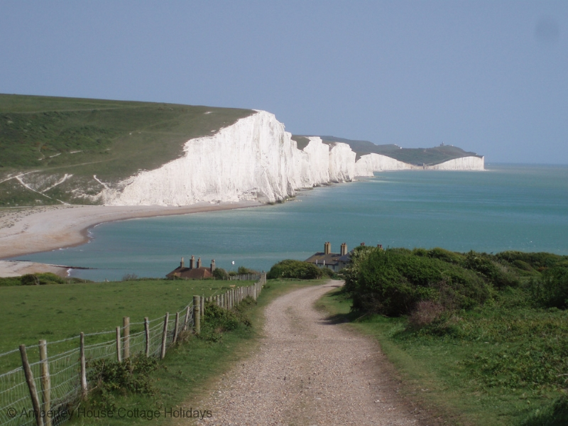 Large Image - The Seven Sisters from Seaford Head