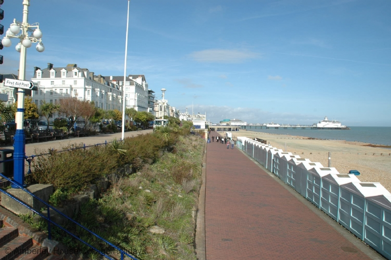 Large Image - The seafront at Eastbourne