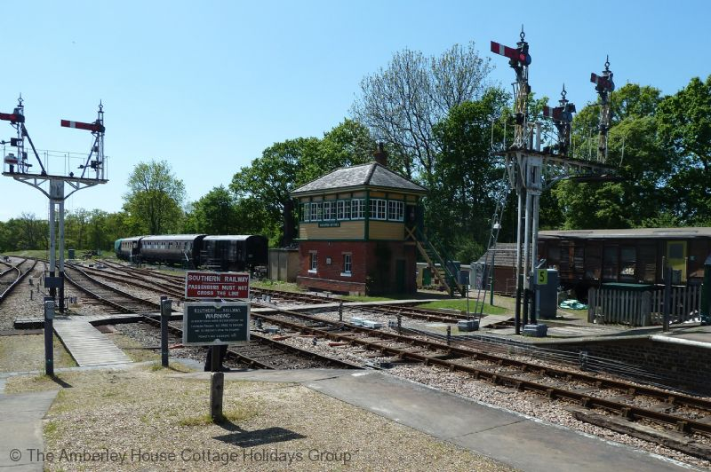 Large Image - The Bluebell Railway at Horsted Keynes