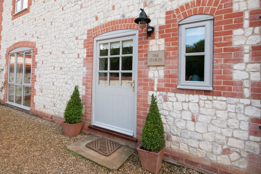 The Stables with Annexe | Front door