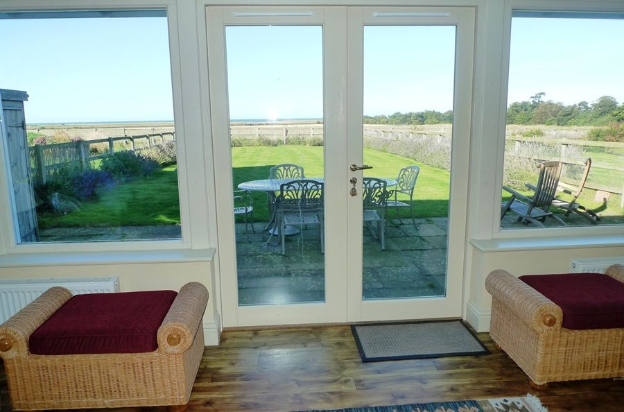 Lark Cottage | Looking out from sitting area