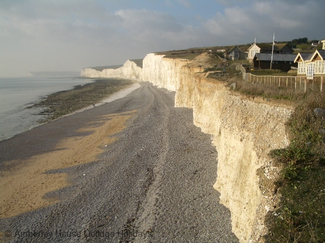 Large Image - The cliffs at Birling Gap