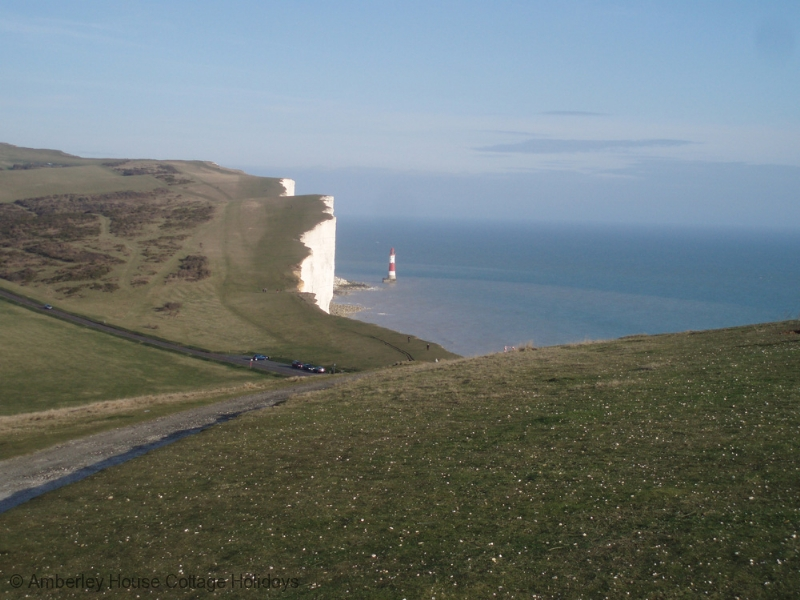 Large Image - Beachy Head Lighthouse from Belle Tout