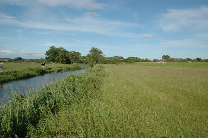 Large Image - The River Rother with the house on the right