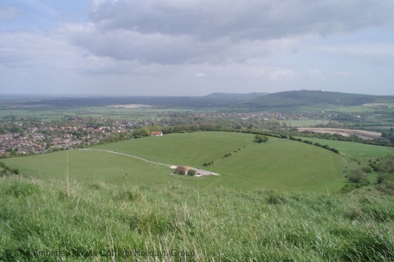 Large Image - The South Downs above Steyning