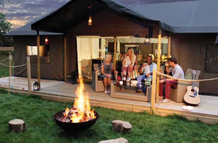 Gather the family around the fire pit. Do you know any campfire songs?