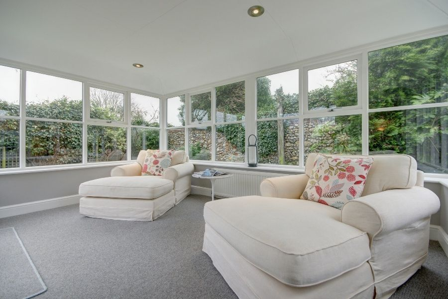 Creake Road Cottage   Garden room